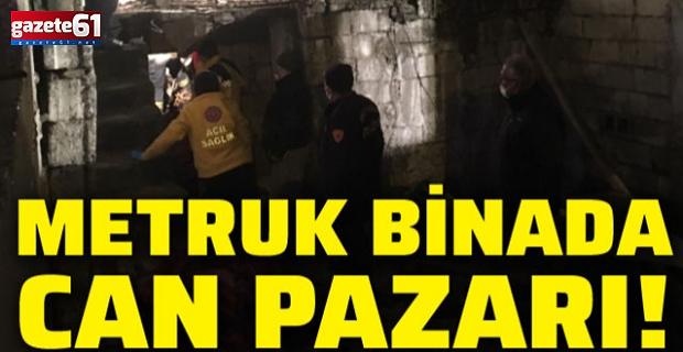 Metruk bina çöktü, anne ve 3 çocuğu yaralandı!