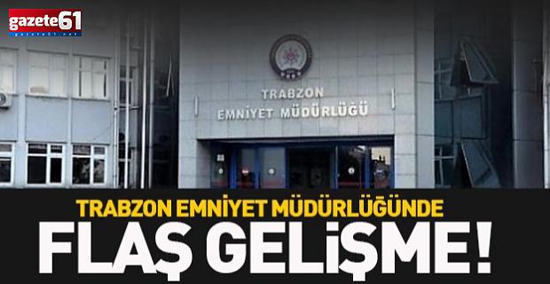 Trabzon emniyetinde terfi ettiler!