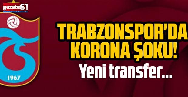 Trabzonspor'da korona şoku!