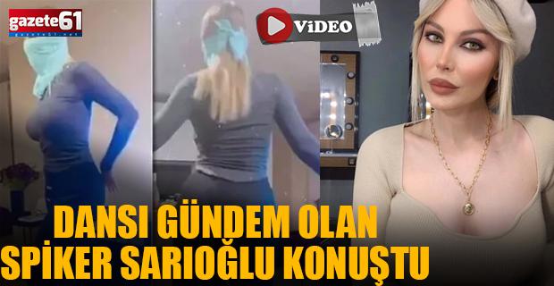 Dans Görüntüsü Gündem Olan Spiker Hande Sarıoğlu Konuştu