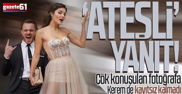 Hande Erçel'in duş sonrası paylaşımına Kerem Bürsin'den ateşli yanıt! Mesaj üstüne mesaj yağdı: Artık evlilik teklifi et!