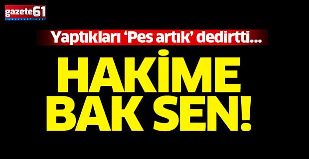 Trabzon'da görev yapan hakimin Diyarbakır'da yaptıkları pes dedirtti!