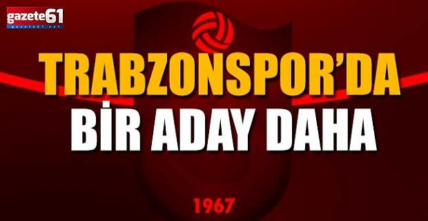 Trabzonspor'da bir aday daha