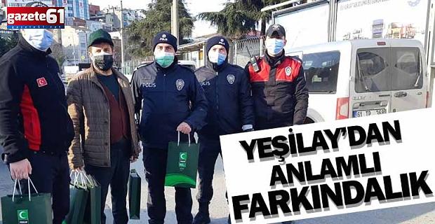 Yeşilay'dan Polise Ziyaret