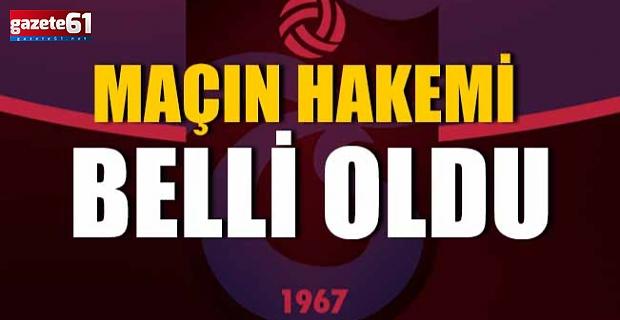 Trabzonspor Alanyaspor maçının hakemleri açıklandı