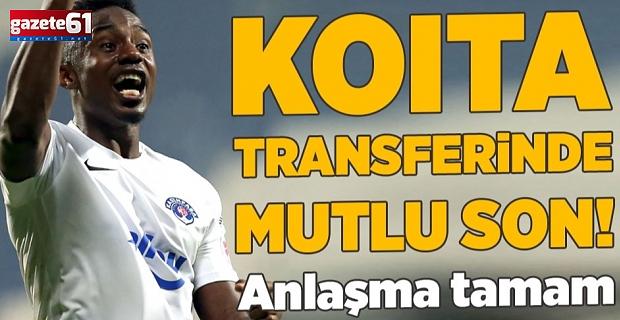 Trabzonspor'da Koita Tamam!