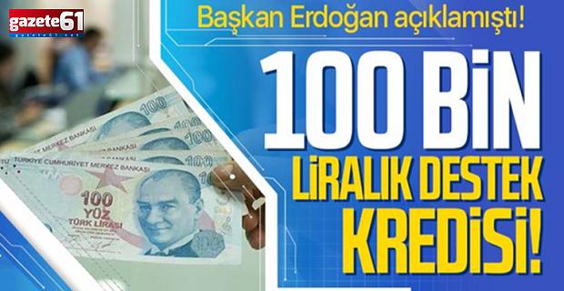 6 ay geri ödemesiz 100 bin TL'lik kredide şartlar belli oldu
