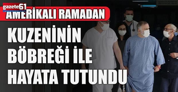 ABD'li hasta Trabzon'u seçti