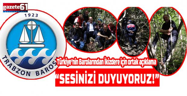 """""""SESİNİZİ DUYUYORUZ!"""""""