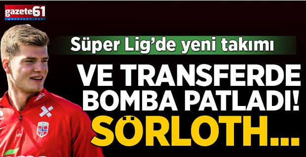 Süper Lig'in kralı Sörloth geri dönüyor...