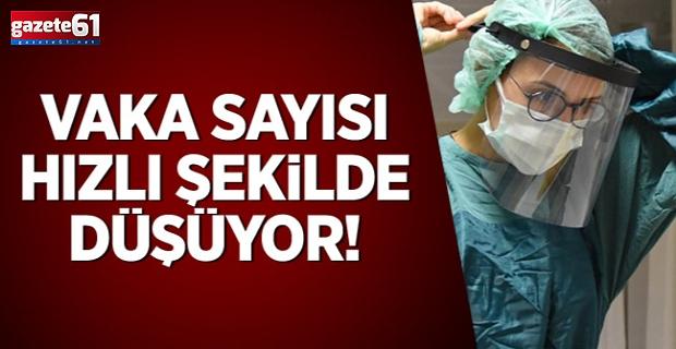 Trabzon'da vaka sayısı hızla düşüyor!