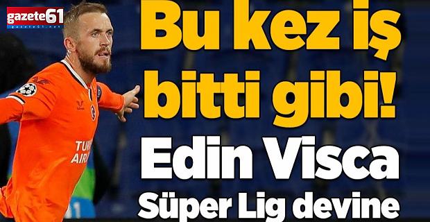 Trabzonspor Edin Visca transferinde mutlu sona yakın!