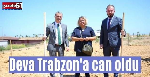 Deva Trabzon'a Can Oldu