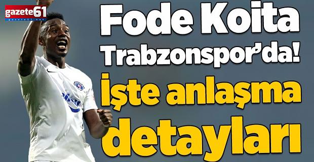 Trabzonspor Fode Koita ile anlaştı! İşte sözleşme detayları