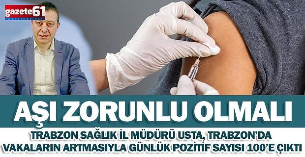 Aşı zorunlu olmalı