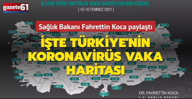 Bakan Koca'dan flaş uyarı! Trabzon'da vakalar yükseldi