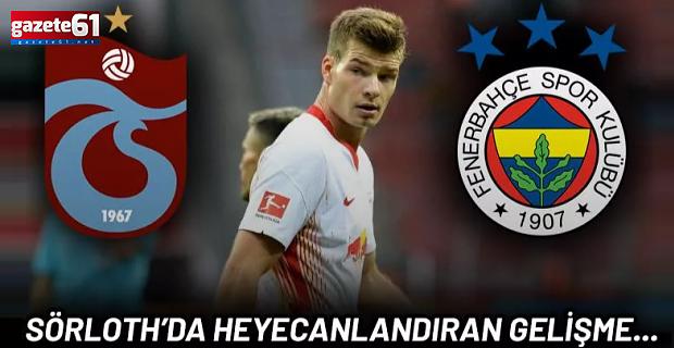 Sörloth transferinde son dakika! Trabzonspor ve Fenerbahçe devredeydi...