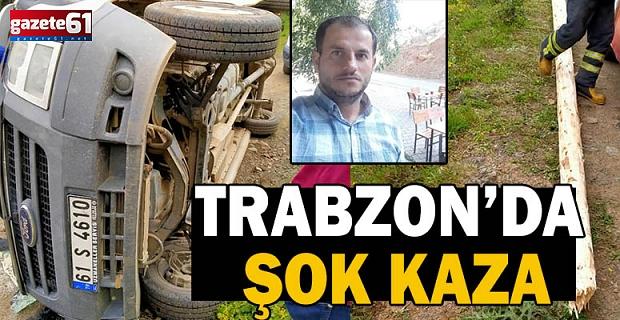 Trabzon'da Şok Kaza