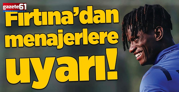 Trabzonspor'da Edgar ve Hugo satılık değil!