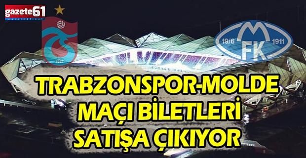 Trabzonspor-Molde maçı bilet fiyatları belirlendi