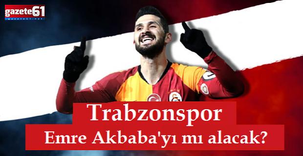 Trabzonspor, Galatasaray'dan Emre Akbaba'yı mı alacak?