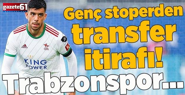 Cenk Özkacar'dan transfer itirafı!