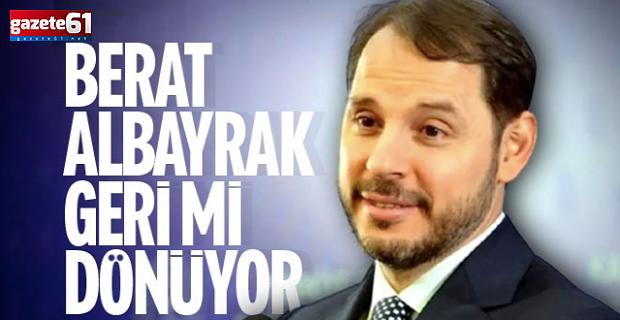 Kabine revizyonu iddiası: Berat Albayrak geri geliyor!