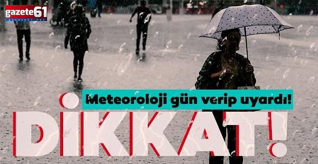 Meteoroloji'den 16 kent için hafta sonu uyarısı! Kuvvetli yağış geliyor