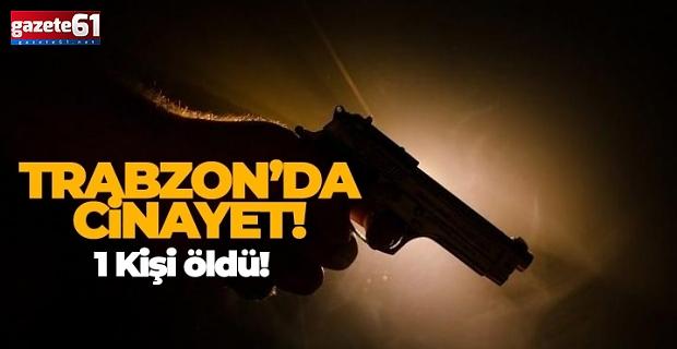 Trabzon'da güpegündüz cinayet!