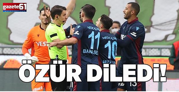 Trabzonspor'da Vitor Hugo'dan özür mesajı!