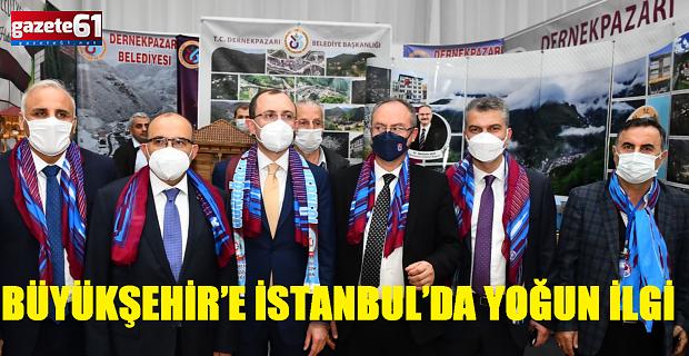 BÜYÜKŞEHİR'E İSTANBUL'DA YOĞUN İLGİ