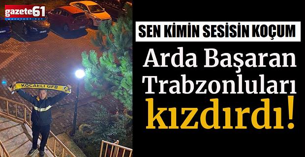 Fenerbahçe maçı paylaşımı Trabzonluları ayağa kaldırdı