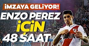 Enzo Perez için 48 saat!Trabzonspor'a imzaya geliyor