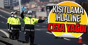 Trabzon'da kısıtlama ihlaline ceza yağdı