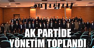 AK Parti'de yeni yönetim toplandı