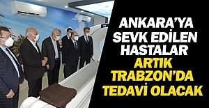 ANKARAYA SEVK BİTTİ HASTALAR TRABZONDA...
