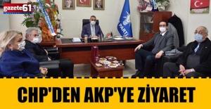 CHP'den AKP'ye hayırlı olsun ziyareti