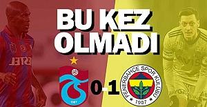 Fenerbahçe'den çok kritik galibiyet!