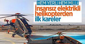 İnsansız helikopterimiz T629 ilk kez görücüye çıktı