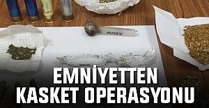 Trabzon Emniyet Müdürlüğünden 61 personelle 'Kasket' operasyonu!