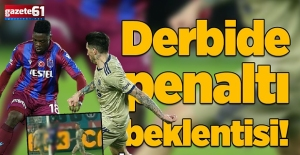 Trabzonspor Fenerbahçe maçında penaltı beklentisi! İşte o pozisyon