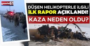 Bitlis'teki askeri helikopter kazasına ilişkin açıklama