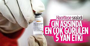 Çin aşısının yan etkileri açıklandı