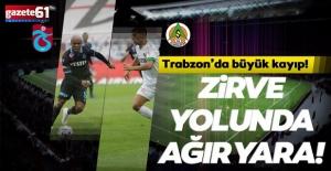 Trabzonspor, Alanyaspor engelini aşamadı!