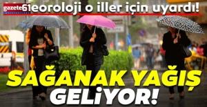 Yağış uyarısı...