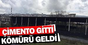 ÇİMENTO GİTTİKÖMÜRÜ GELDİ
