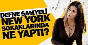 Defne Samyeli#039;den New York pozları