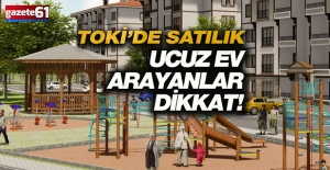 Trabzon'da TOKİ 144 konut yapacak!