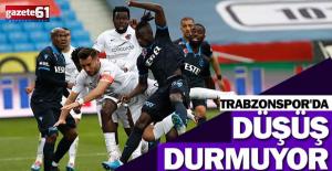 Trabzonspor'da düşüş durmuyor