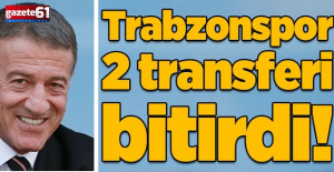 Trabzonspor'un ilk 2 transferi belli oldu!